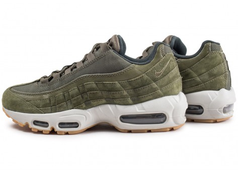 Chaussures Nike Air Max 95 Olive Canvas  vue extérieure