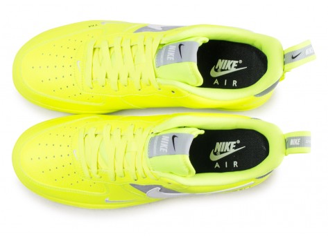 '07 1 Lv8 Air Baskets Nike Néon Jaune Chaussures Utility Force qEatwx1