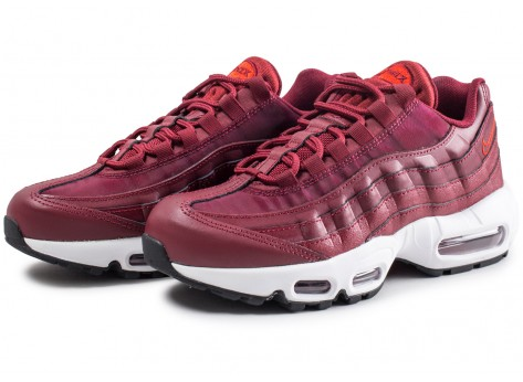 Chaussures Nike Air Max 95 Habanero femme vue intérieure