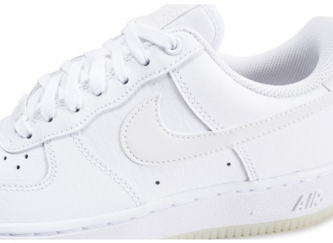 Chaussures Nike Air Force 1 ´07 Essential blanche femme vue dessus