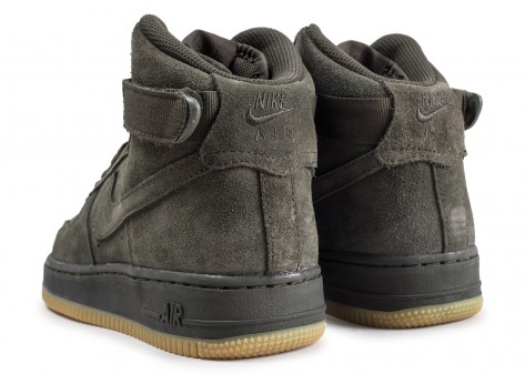 Chaussures Nike Air Force 1 High LV8 Sequoia junior  vue dessous