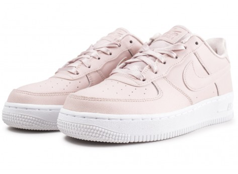 Chaussures Nike Air Force 1 SS rose clair junior vue intérieure