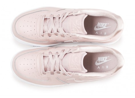 Chaussures Nike Air Force 1 SS rose clair junior vue arrière