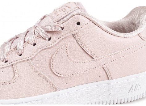 Chaussures Nike Air Force 1 SS rose clair junior vue dessus