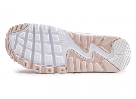 Chaussures Nike Air Max 90 Leather SS rose junior  vue avant