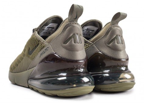 Chaussures Nike Air Max 270 Medium Olive junior vue dessous