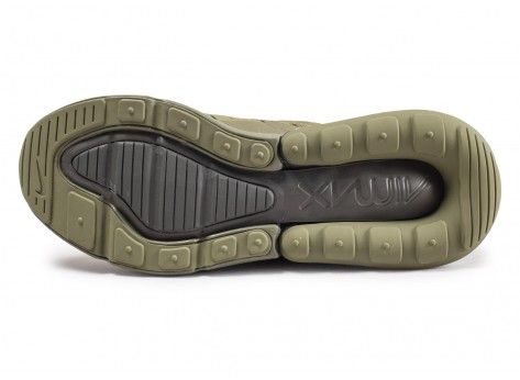 Chaussures Nike Air Max 270 Medium Olive junior vue avant