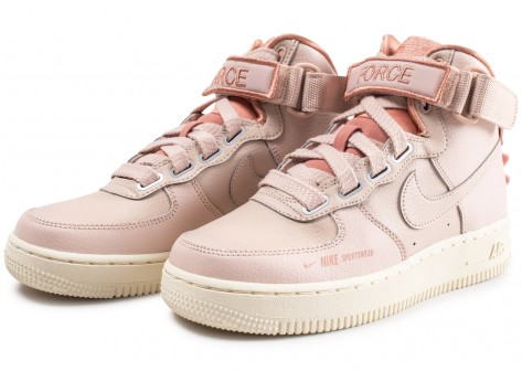 Chaussures Nike Nike Air Force 1 High Utility rose femme vue intérieure