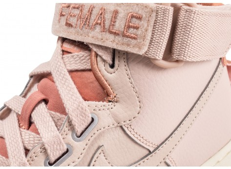 Chaussures Nike Nike Air Force 1 High Utility rose femme vue dessus