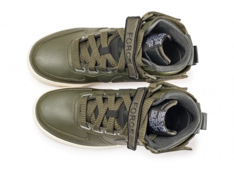 Chaussures Nike Air Force 1 High Utility Olive femme vue arrière