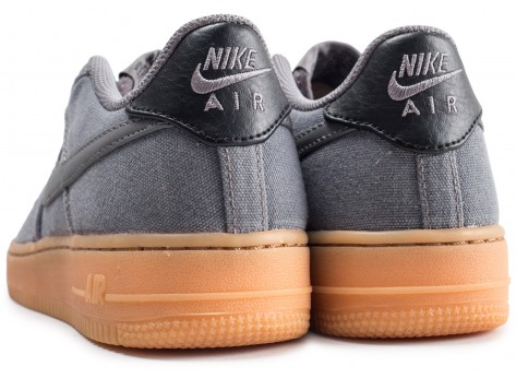 Chaussures Nike Air Force 1 LV8 Style grise junior vue dessous