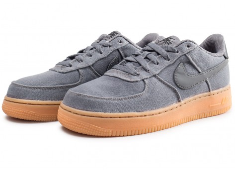 Chaussures Nike Air Force 1 LV8 Style grise junior vue intérieure