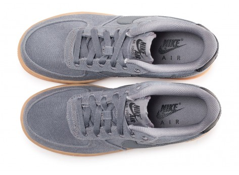 Chaussures Nike Air Force 1 LV8 Style grise junior vue arrière