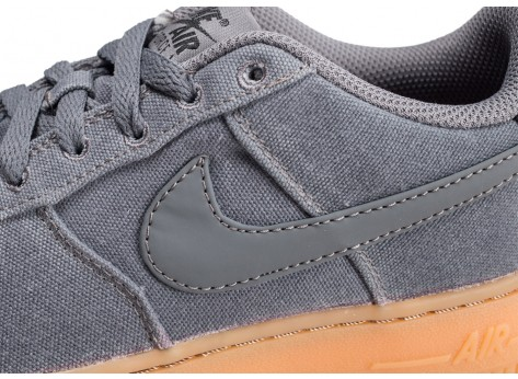 Chaussures Nike Air Force 1 LV8 Style grise junior vue dessus