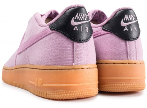 Chaussures Nike Air Force 1 LV8 Style rose junior vue dessous