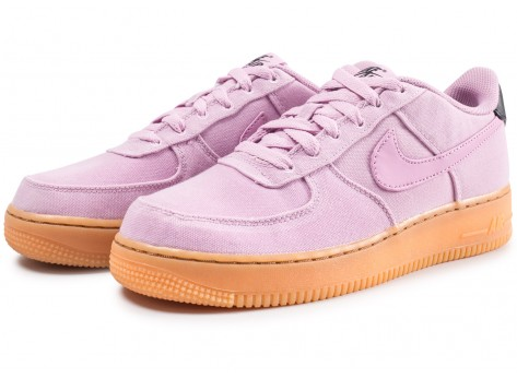 Chaussures Nike Air Force 1 LV8 Style rose junior vue intérieure