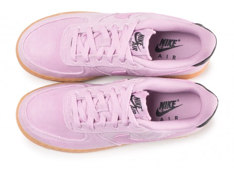 Chaussures Nike Air Force 1 LV8 Style rose junior vue arrière