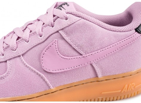Chaussures Nike Air Force 1 LV8 Style rose junior vue dessus