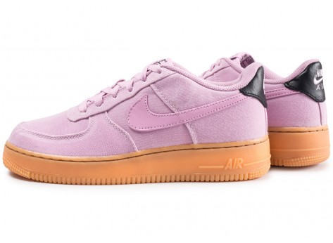 Chaussures Nike Air Force 1 LV8 Style rose junior vue extérieure