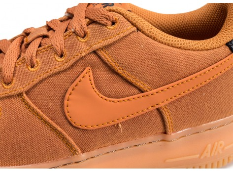Chaussures Nike Air Force 1 LV8 Style marron junior vue dessus
