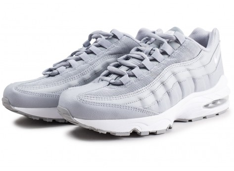 Chaussures Nike Air Max 95 grise junior vue intérieure