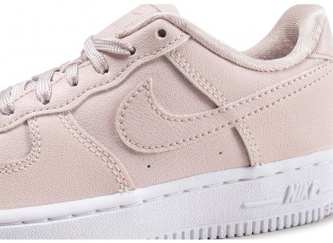 Chaussures Nike Air Force 1 SS rose enfant  vue dessus