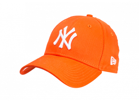 Casquettes New Era Casquette Essential 9/40 New York Yankees orange