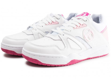 Chaussures Sergio Tacchini Top Play W rose et blanche vue intérieure