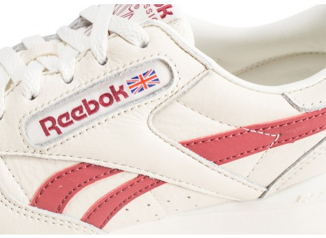 Chaussures Reebok Phase 1 Pro blanche et rouge  vue dessus