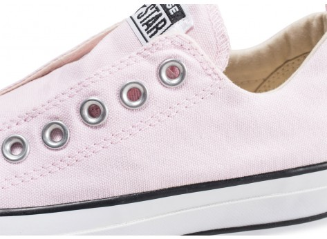 Chaussures Converse Chuck Taylor All Star low Platform rose femme vue dessus