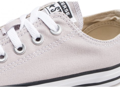 Chaussures Converse Chuck Taylor All Star Low beige clair femme vue dessus