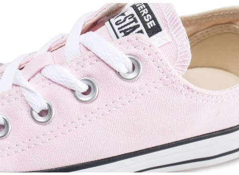 Chaussures Converse Chuck Taylor All Star Low rose pâle vue dessus