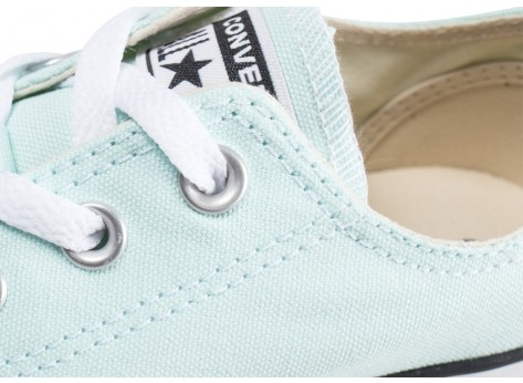 Chaussures Converse Chuck Taylor All Star Low vert pastel femme vue dessus