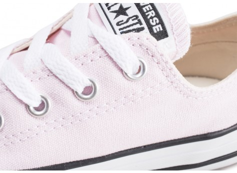 Chaussures Converse All Star OX CVS rose enfant vue dessus