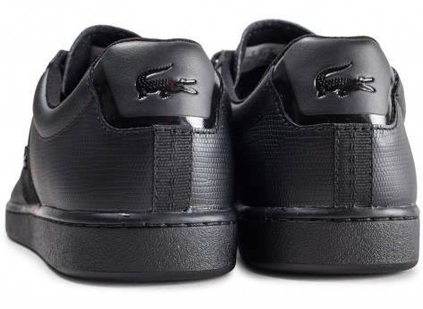 Chaussures Lacoste Carnaby Evo 319 noire vue dessous