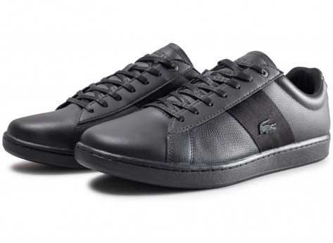 Chaussures Lacoste Carnaby Evo 319 noire vue intérieure