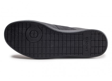 Chaussures Lacoste Carnaby Evo 319 noire vue avant