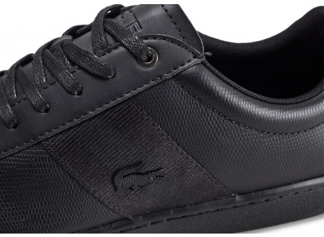 Chaussures Lacoste Carnaby Evo 319 noire vue dessus