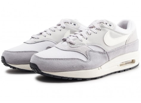 Chaussures Nike Air Max 1 gris vue intérieure