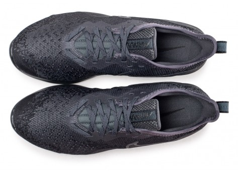 Chaussures Nike Air Max Sequent 4 noir anthracite  vue arrière