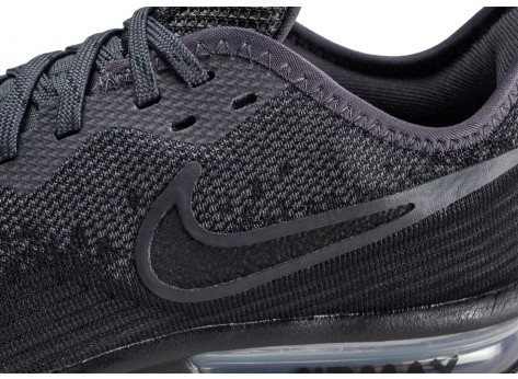Chaussures Nike Air Max Sequent 4 noir anthracite  vue dessus