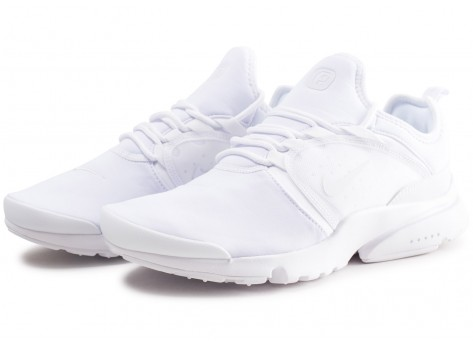 Chaussures Nike Presto Fly World triple blanc vue intérieure