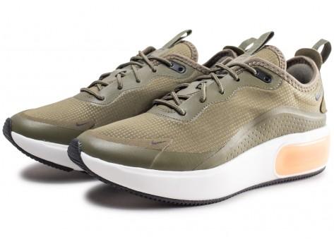 Chaussures Nike Air Max Dia Olive femme vue intérieure
