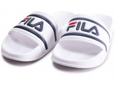 Chaussures Fila Sandales Morro Bay blanches  vue intérieure
