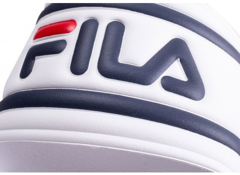 Chaussures Fila Sandales Morro Bay blanches  vue dessus