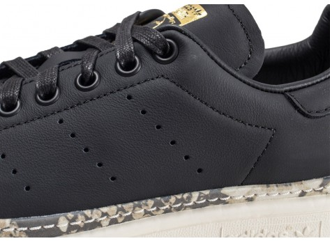 Chaussures adidas Stan Smith New Bold noire femme  vue dessus