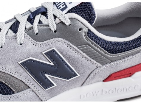 Chaussures New Balance 997 grise vue dessus