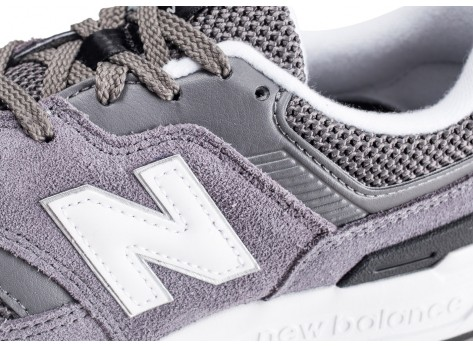 Chaussures New Balance 997 grise femme vue dessus