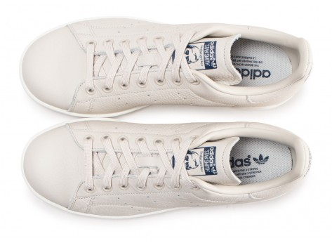 Chaussures adidas Stan Smith Club beige vue arrière