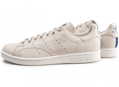 Chaussures adidas Stan Smith Club beige vue extérieure
